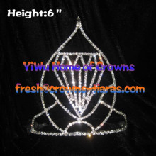 Big Diamond Shaped Pageant Crowns