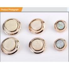 Qualität vergoldeter kombinierter Knopf für Damen Anzug BA60384