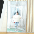 portable fly screen door screen weighted magnetic