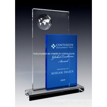 Prix de perception globale en cristal (NU-CW811)