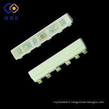 Très petite taille 4508 ultra lumineux 4 bornes SMD LED PLCC 020 RVB LED pour des cils