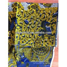 """Großhandel wachs bedruckten stoff ankara print afrikanischen super wachs stoff batik print stoff 100% cotton24 * 24 72 * 60 44/45 """""""