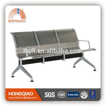 L-A049 2017 novo modelo alta quanlity aço inoxidável e alumínio cadeira pública