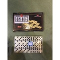 Double 6 Ivory Domino Pack In Color Box