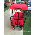 Красный цвет Сени вагона с тормозом
