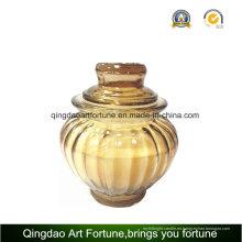 Envase de tarro cristal con tapa para decoración del hogar proveedor