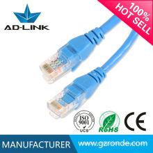 Fabricant professionnel de câble à cordon de raccordement cat 5e