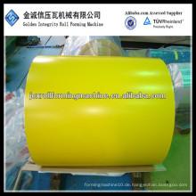 Farbbeschichtete vorlackierte galvanisierte Metallstahlspule