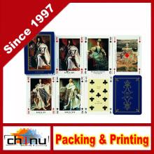 Gedruckte benutzerdefinierte Werbung Spielkarten (430022)