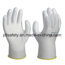 Cut Resistant Safety Work Glove Coated with PU (PD8021)