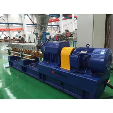 high quantity twin-screw plastic making machine