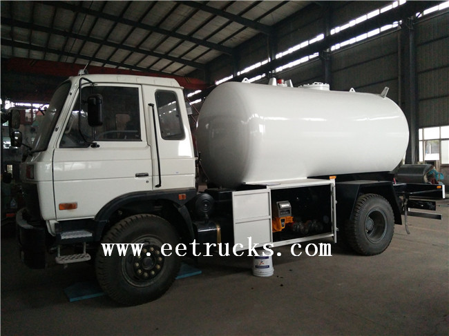 20000 Liters LPG Dispenser Trucks