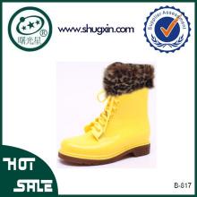 cheap pvc rain boots gum boots