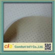 Plaine de non-tissé haute qualité collé tissu