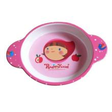 Меламин детские посуда/салатник с ручкой (MRH12002)