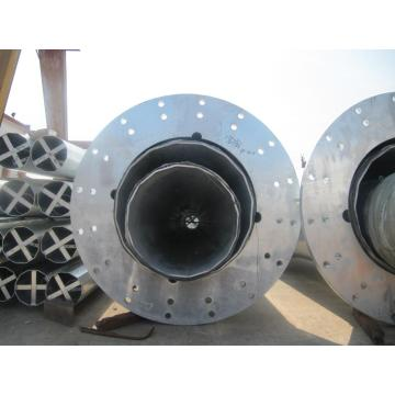 Transmission Galvanized Steel Electric Pole