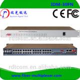 30 channel fxo/fxs pcm fiber optical telephone Multiplexer