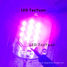 LED e luz UV 365nm, 395nm 25W Novo