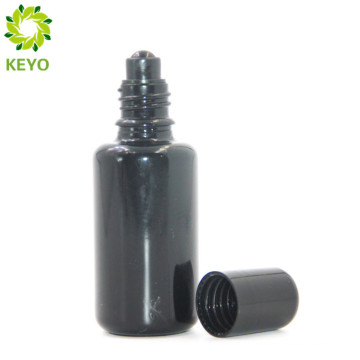 High quality bottle essential oil roll on empty glass glass bottles frosted glass roll on containers