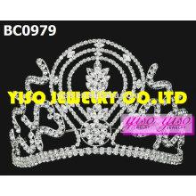 Coroas de desfile de moda de jóias