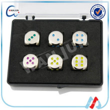 personalized colored dice