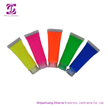 10ML 8 colori UV glow NEON FACE PAINT