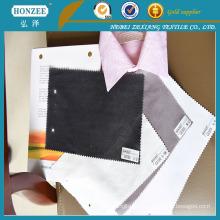 Tela de forro estampada Interlinig con cuello de camisa 100% algodón