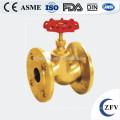 Válvula de cierre agua caliente venta fábrica precio latón dn15-200