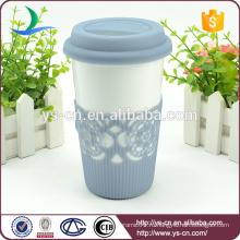2015 Оптовая Керамическая двойная стенная чашка