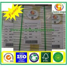 Top qualidade C2s revestido Gloss de papel de arte 90g