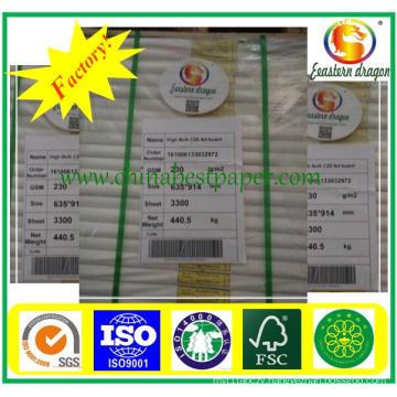 80GSM White Color Menubook Printing Paper