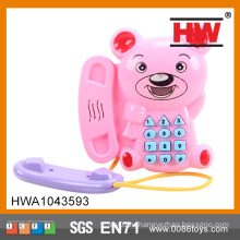 Смешные детские музыкальные мобильные игрушки с легкими и музыкальными игрушками для мобильных телефонов
