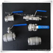 Stainless Steel Inner Thread Ball Valve