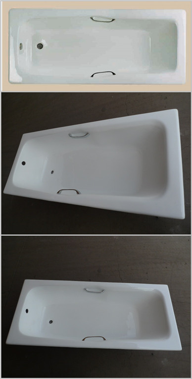Cast iron bathtub LZ1800B8-H
