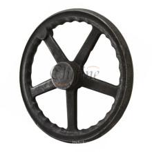 Customized CNC Machining Wheel Hand Wheel with Iron