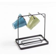 Rack de armazenamento doméstico de metal para cozinha