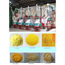 25 T/24h Maize Flour Milling Machinery, Maize Milling Plant