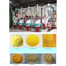 25 T / 24h Máquinas de moagem de farinha de milho, Fábrica de moagem de milho