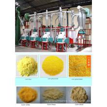 25 T / 24h Maize мукомольное оборудование, кукурузо-фрезерный завод