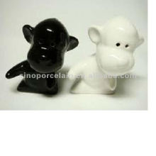 animal ceramic salt and pepper shaker for dog design BS120726B