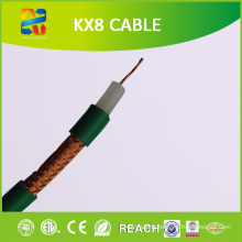 100m Coil 75 Ohm Stranded Conductor Kx8 Coaxial Cable (RoHS CE Approved)