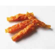 Good Quality for Dental Care Chews Stick Chicken Wrap Biscuit /Beef Tendon Dog Chews export to Greece Exporter