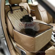 2 em 1 Premium Car Car Assento Impermeável Car Front Seat Crate Cover