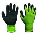 Латексная пена покрытием перчатки работы с щеткой оболочки (LCS3019B)