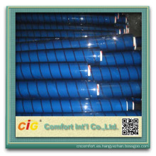 Rollo de película transparente de PVC transparente