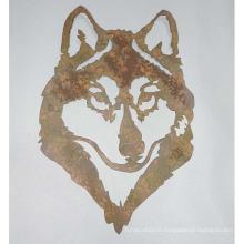 Décoration murale en forme de métal en forme d'animal à vendre