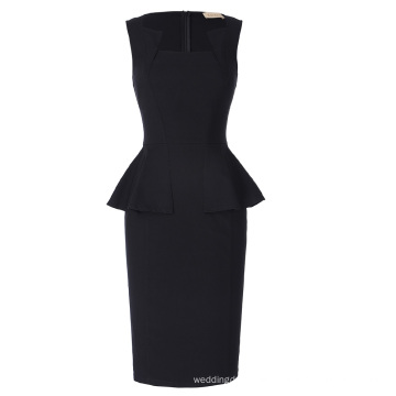 Kate Kasin Sleeveless Classic Hips-Wrapped Retro Vintage Bodycon Pencil Dress KK000390-1