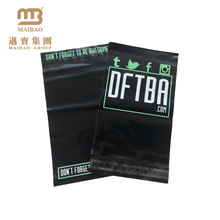 Factory Sale Plastic Mailing Bags / Custom Colored Matte Black Poly Mailer Bags