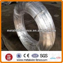 Alambre de hierro galvanizado recubierto de zinc