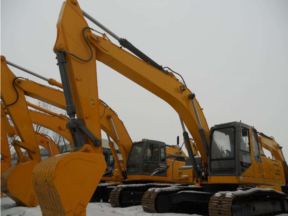 20t Wheeled Excavators